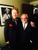 Peter with Brian Setzer
